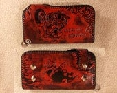 Handmade Biker Leather Wallet