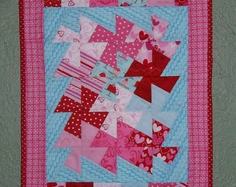 SALE - Little Sweetheart Mini Quilt