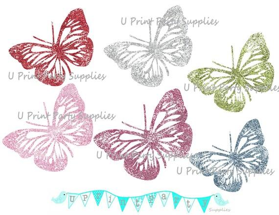 free glitter paper clip art