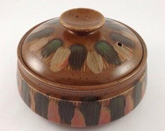 Vintage Japanese OMC Lidded Bowl