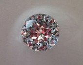 RSVD for Julie - Sparkly Glass Knobs Shiny Clear Faceted Diamond Cut x 42 pieces