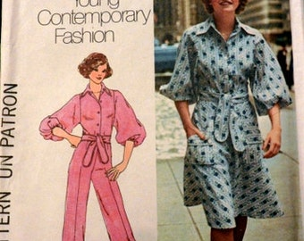 Simplicity 7257 Misses' Top, Skirt and Pants, size 10