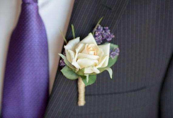 Men's Wedding Rustic Boutonniere