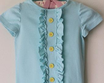 Ruffle Shirt-- 2T