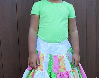 Clearance- Girls Size 5 Full Skirt