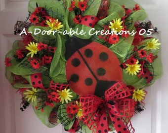 Popular items for deco mesh wreaths on Etsy