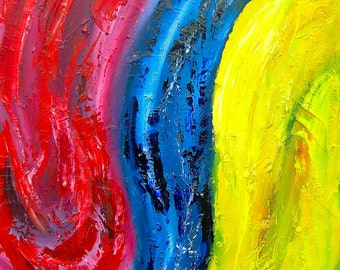 OOAK abstract painting