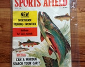Vintage Sports Afield March 1960 Trout Fishing Hunting