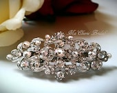 Bridal Hair Clip Flower Girl Hair Clip Bridal Accessories Wedding Hair Clip Rhinestone Hair Clip Small Hair Clip Bridesmaids Hair