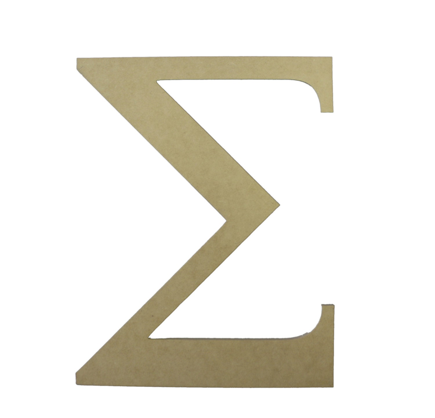 unavailable listing on etsy With greek letter cutouts