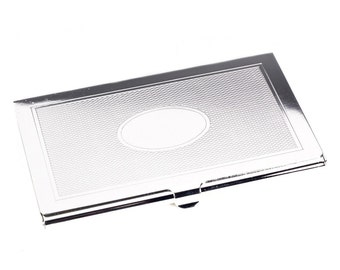 Personalized High Quality Business Card Holder - Free Engraving
