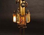 Mystarium Table Lamp: a hand-made steampunk styled light