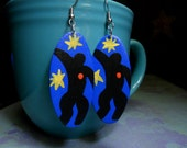 Matisse Inspired Earrings