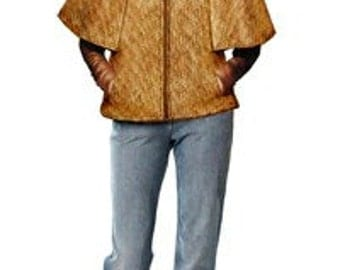 5727 Personalized Cape Sewing Pattern - Women Mantle, Ladies Clothes, PDF pattern