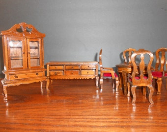 Miniature Doll House Furniture Set