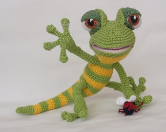 Amigurumi Crochet Pattern - Giorgio the Gecko