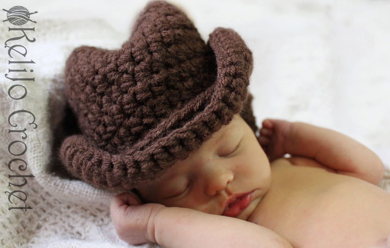Crochet Cowboy Hat Cowboy Hat Cowgirl Hat Western by ...