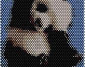 Hi Panda Brick Stitch Bracelet Pattern