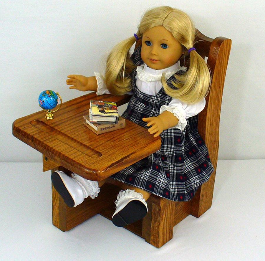 American Girl Doll Furniture School Desk 18 Doll