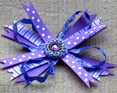 Perky Purple Spikey FREE SHIPPING - BowBravo