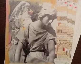 Statuary With Cream Sympathy Card Set
