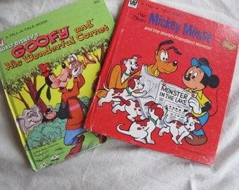 Disney Duo -- Tell-a-Tale books
