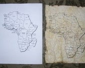 Custom Hand Antiquing Paper Orders