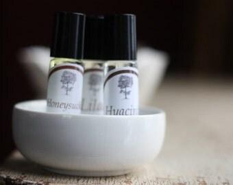 Hyacinth Perfume Oil Stocking Stuffer Gift for friend, teacher, coworker