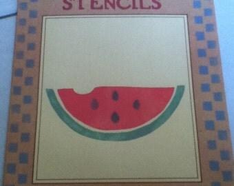 Watermelon Slice HomeSpun Stencils 28202