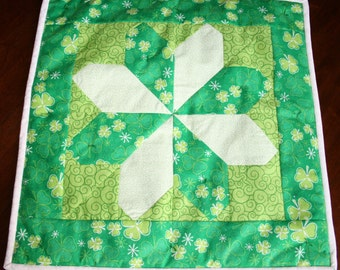 Sale! Happy St. Patrick's Day Wall Hanging-set of 2