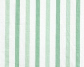 ONE Sweet Vintage Sheet Fat Quarter, Vintage Fabric, Reclaimed Fabric, Fabric Stash, Sewing Supplies, Stripe10