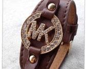 MK  Michael Kors Inspired Brown Bracelet