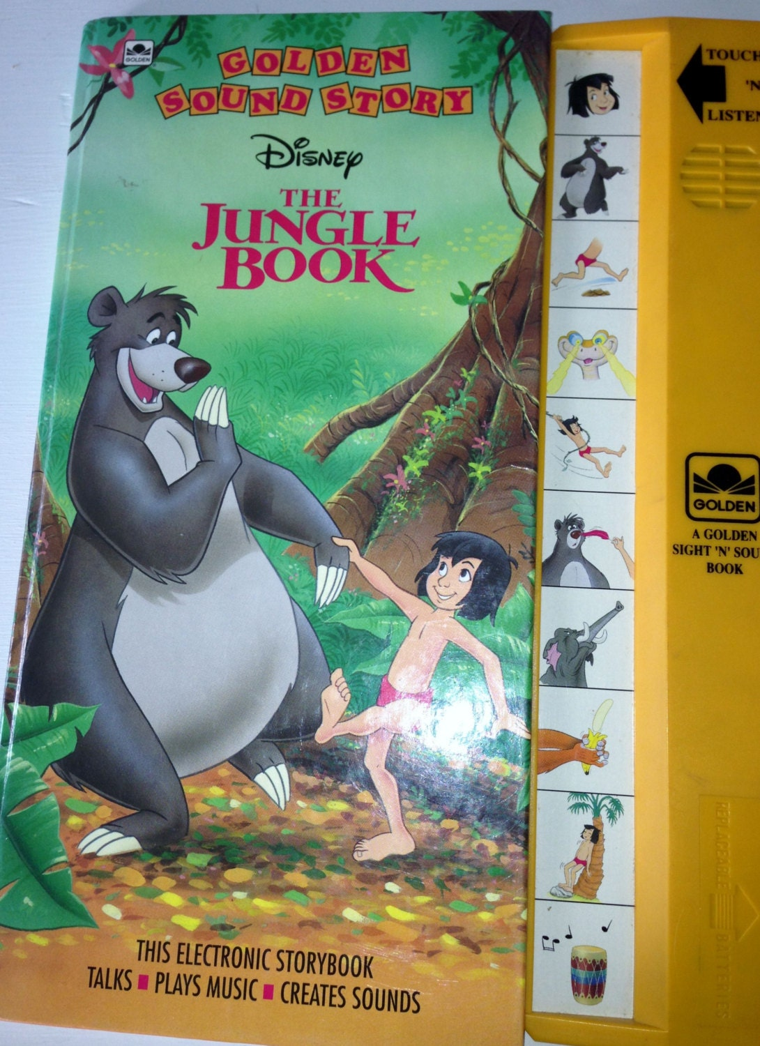 Book story jungle