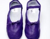 Eggplant Ballet Shoe