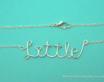 Sorority Little Sister Necklace • Sorority Gift Jewelry • Big Little Reveal • Big Little Sister Gifts