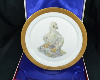 Limited Edition Boehm Young America Collectors Plate