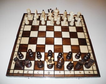 Chess board, Chess, Chess set, Birthday gift, Wooden chess set, Unique chess