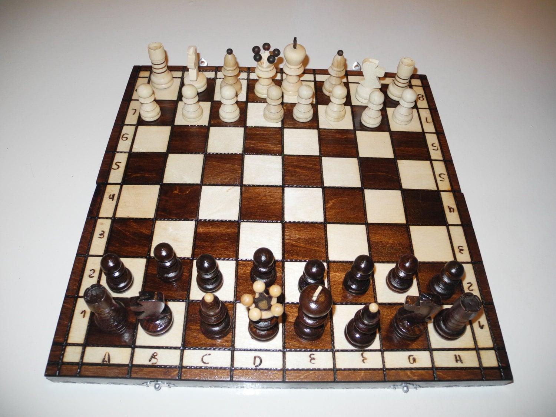 Chess Board Chess Chess Set Birthday Gift Wooden Chess
