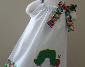 The Very Hungry Caterpillar pillowcase dress
