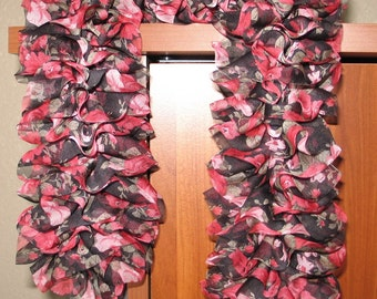 Soft Ruffles of Fabric