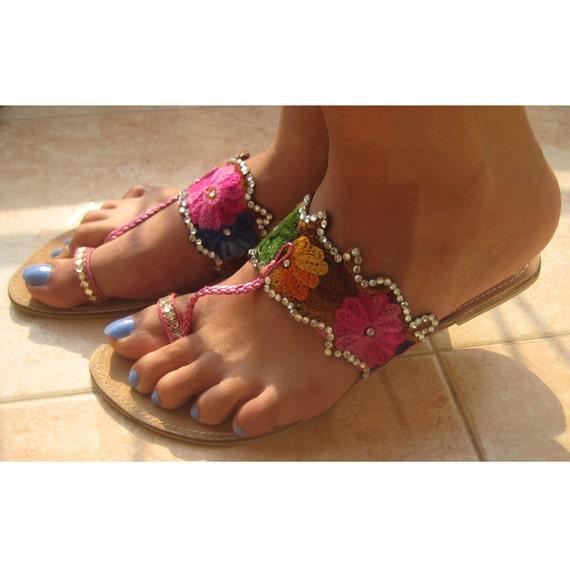 Items Similar To Pink Bling Flip Flopsbridesmaid Flip -9112
