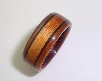 popular items for hawaiian koa ring on etsy