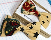 Vintage Tattoo Style Bow Tie Gift for Him Rock N' Roll