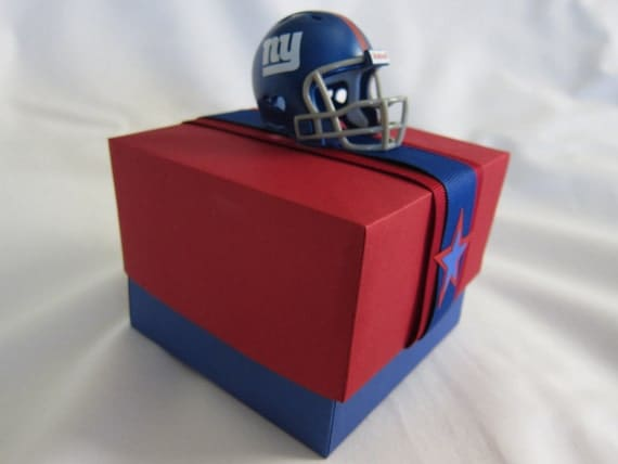 Giants New York Football Gift Box Men Boys Teens