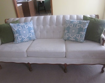 Vintage Couch / Settee Valentine Seaver by Kroehler Furniture