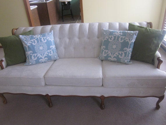 Vintage Couch Settee Valentine Seaver by by