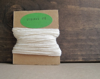 Natural Twine - 10 yds - 6 ply