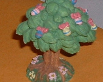 Easter Egg Tree Easter Figurine Collectible Item Ceramic Collectible
