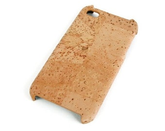 Cork cover for iPhone 4