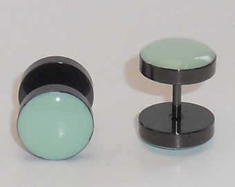 Mint Green Fake Plugs